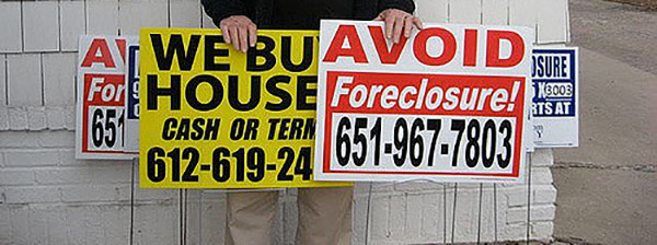 we buy houses scams signs