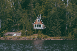 inheriting a house on a lake
