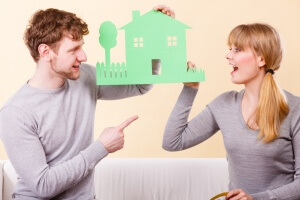 selling assets before divorce house choices